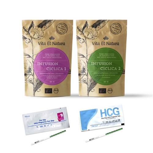 Pack de Infusiones Ciclicas y Tests