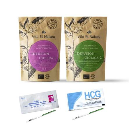 Pack de infusiones ciclicas y TO